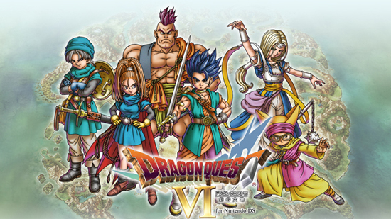 Dragon Quest VI DS Nintendo confirma Dragon Quest VI para Europa