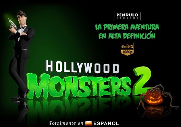 Hollywood Monsters 2 Portada FX Interactive publicará Hollywood Monsters 2