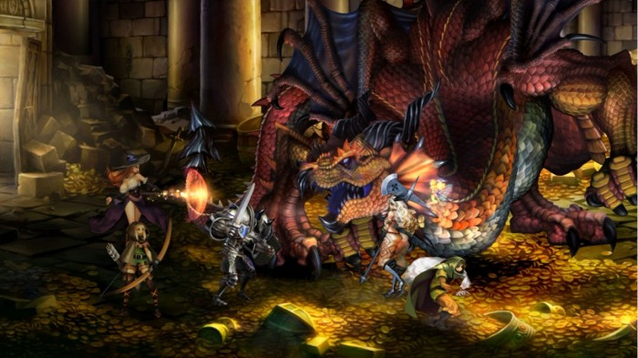 dragons crown vanillaware e1307626606392 Dragon's Crown, Vanillaware anuncia el sucedor espiritual de Dungeons & Dragons