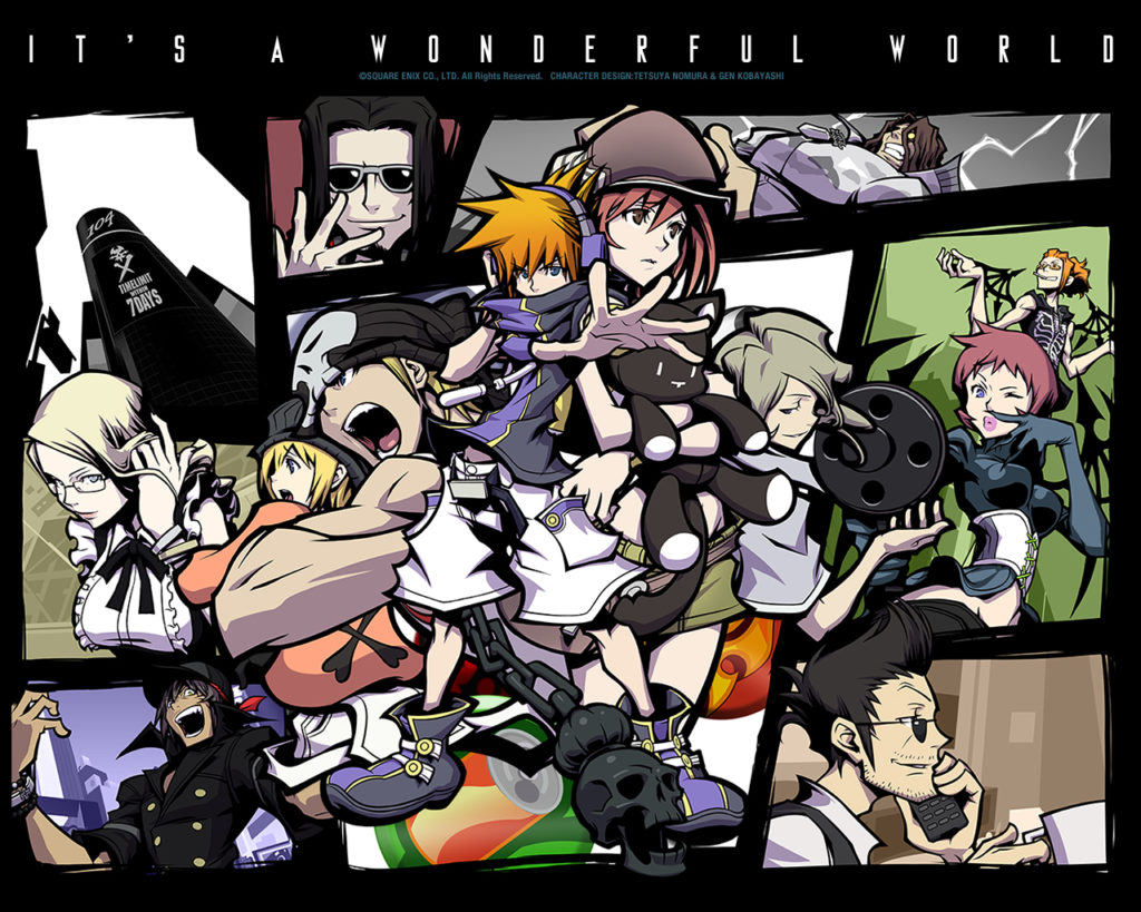 the world ends with you ds 1024x819 ¿Nuevo The World Ends With You?¡La cuenta atrás ha empezado!