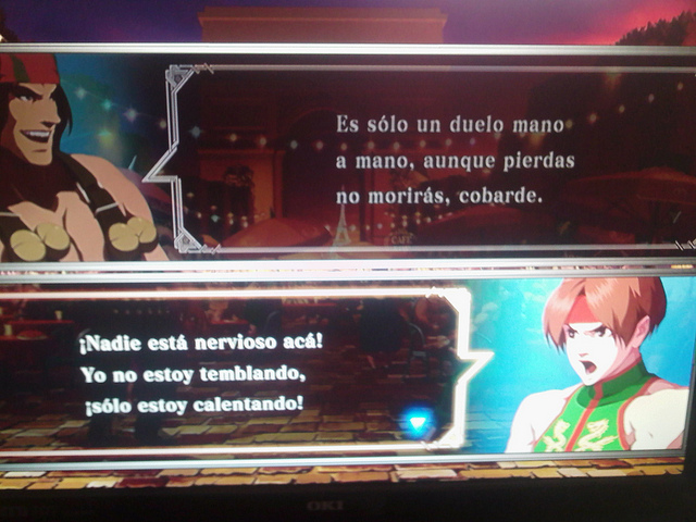 the king of fighters xiii traduccion español 6 La traducción española de The King of Fighters XIII da mucho miedooorl