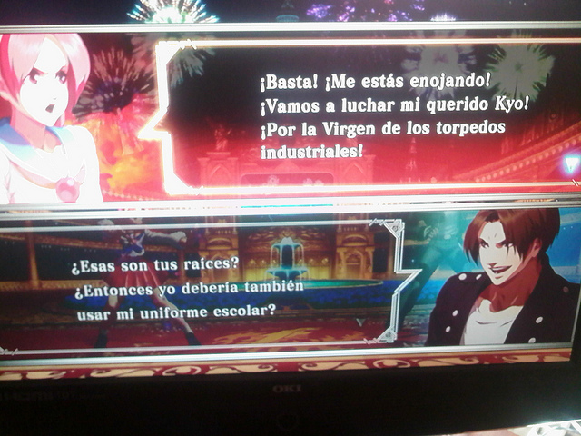 the king of fighters xiii traduccion español 9 La traducción española de The King of Fighters XIII da mucho miedooorl