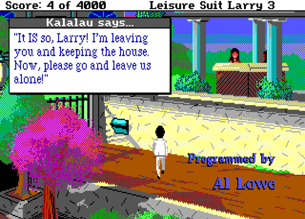 Leisure Suit Larry Goes Looking for Love (in Several Wrong Places)