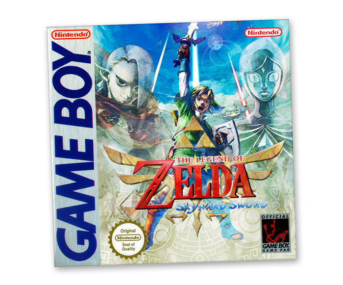 The Legend Of Zelda Skyward Sword Para Game Boy