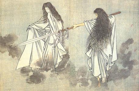 mitologia-videojuegos-izanagi-izanami