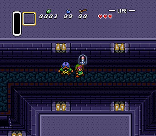 [ROM Hack] Super Metroid And A Link To The Past Item